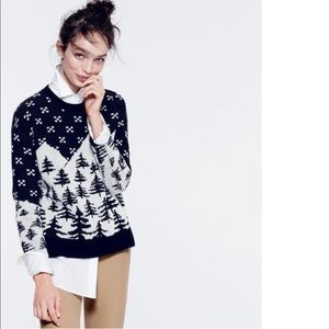 New J. Crew Cabin Sweater 100% Wool